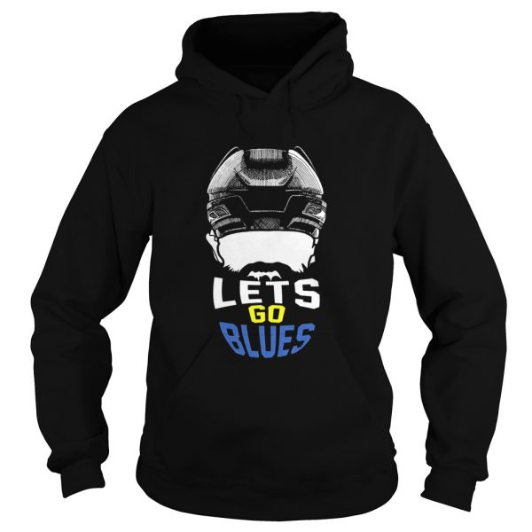 Lets Go St Louis Blues Hockey Fan Funny T Hoodie