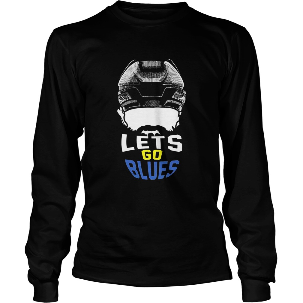 Lets Go St Louis Blues Hockey Fan Funny T LongSleeve
