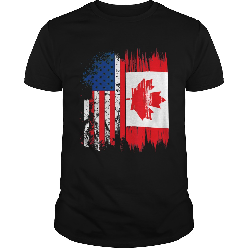 Original Canada Flag Canadian America Flag Shirt