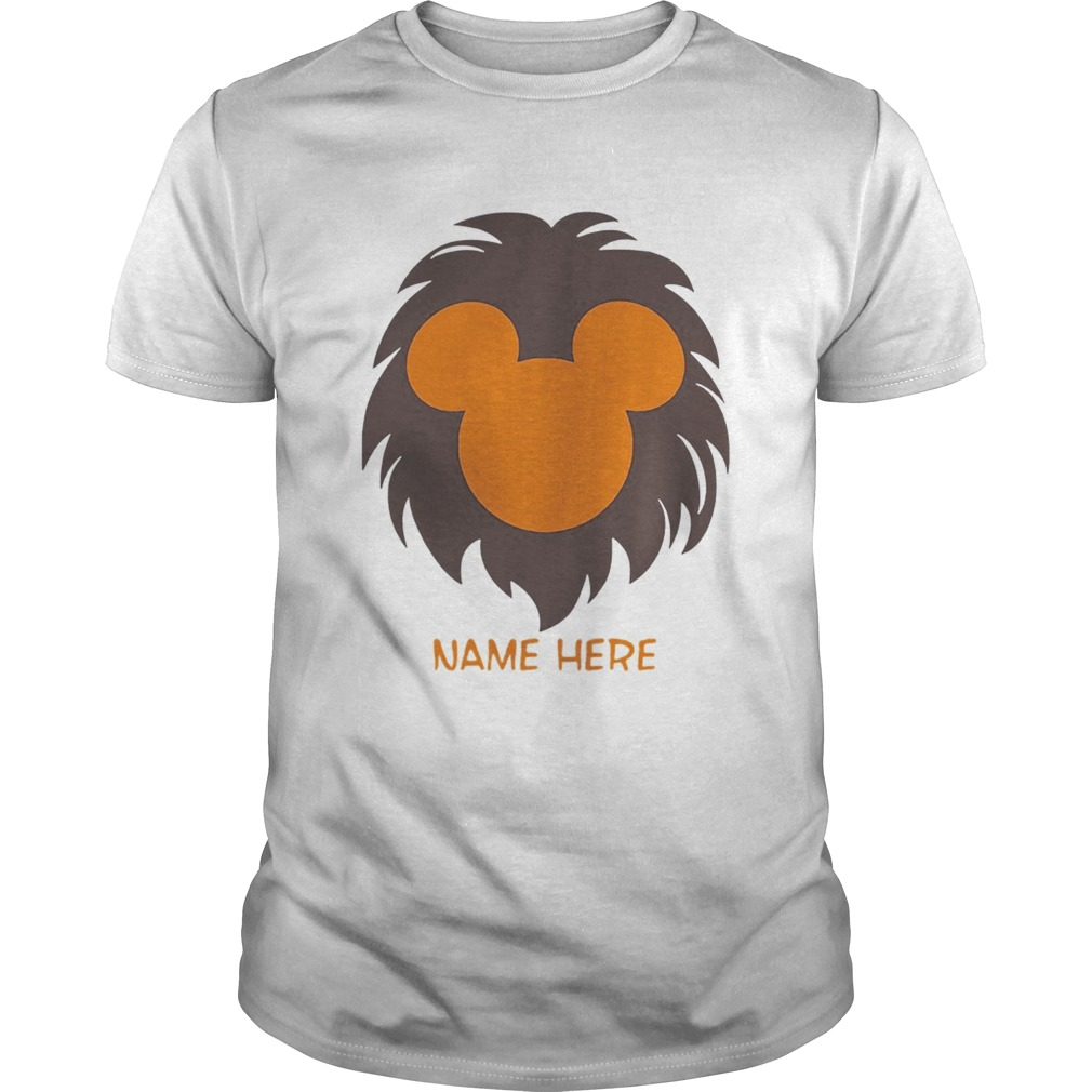 Personalized Disney Lion King Family Funny Gift TShirt