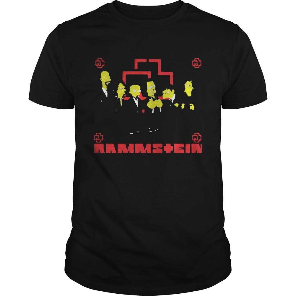 Rammstein Get The Simpsons Treatment Shirt