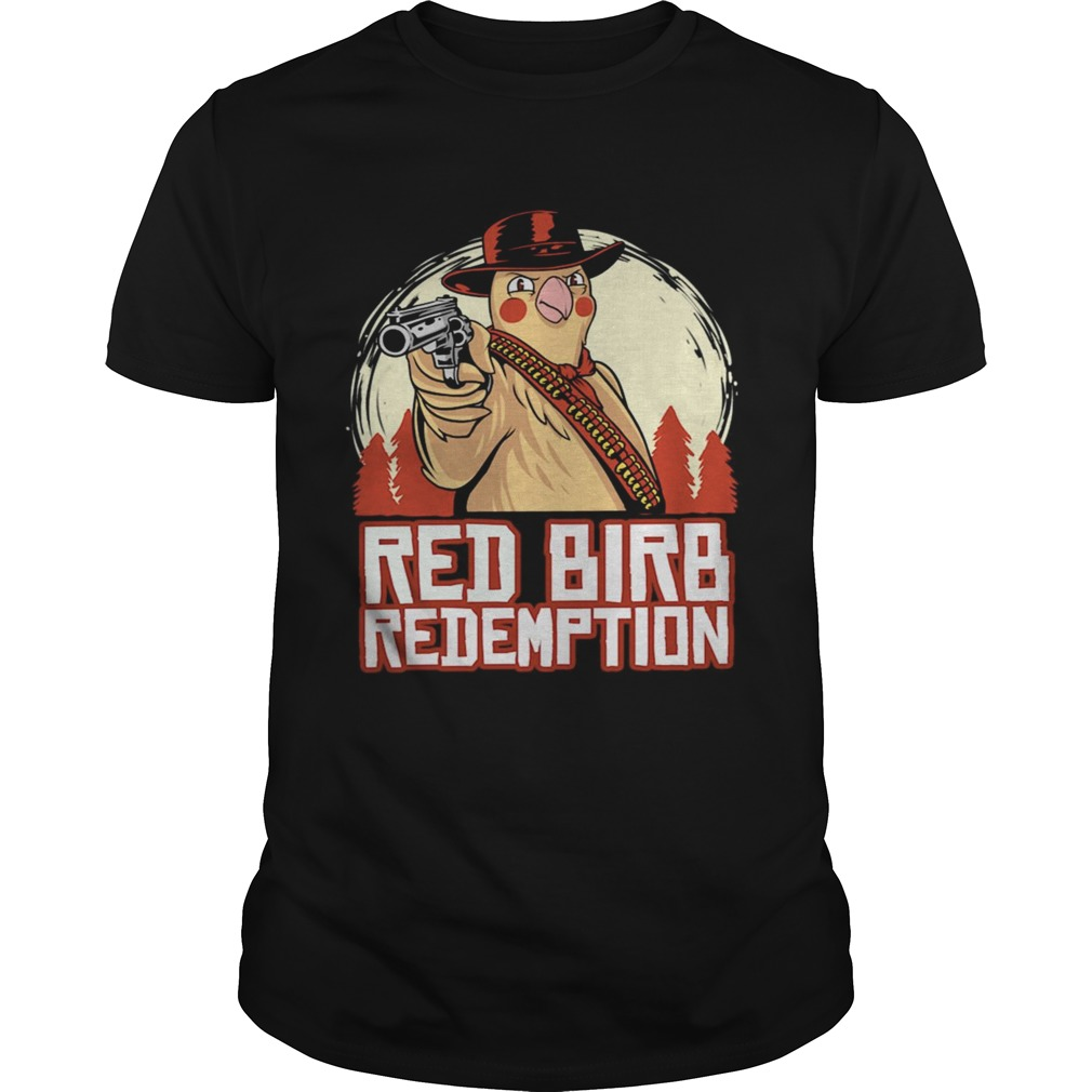 Red Birb Redemption EU shirt