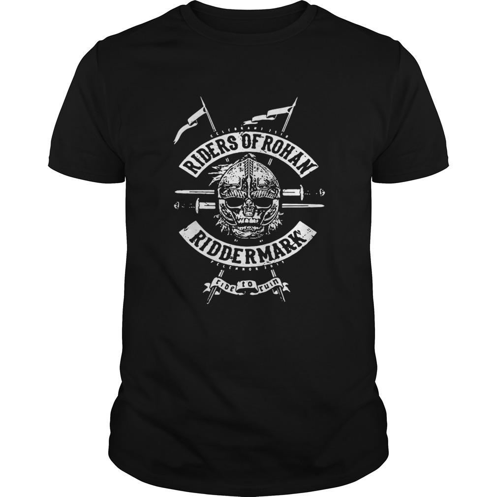 Riders of Rohan Tolkiens The Lord of the Rings inspired shirt