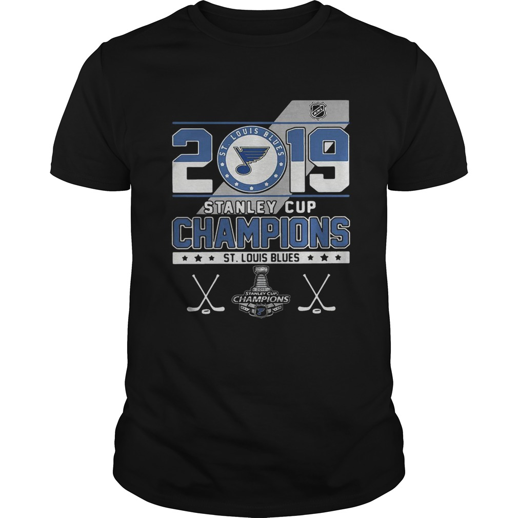 St Louis Blue stanley cup champions shirt