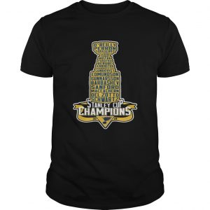 Stanley Cup Champions 2019 shirt