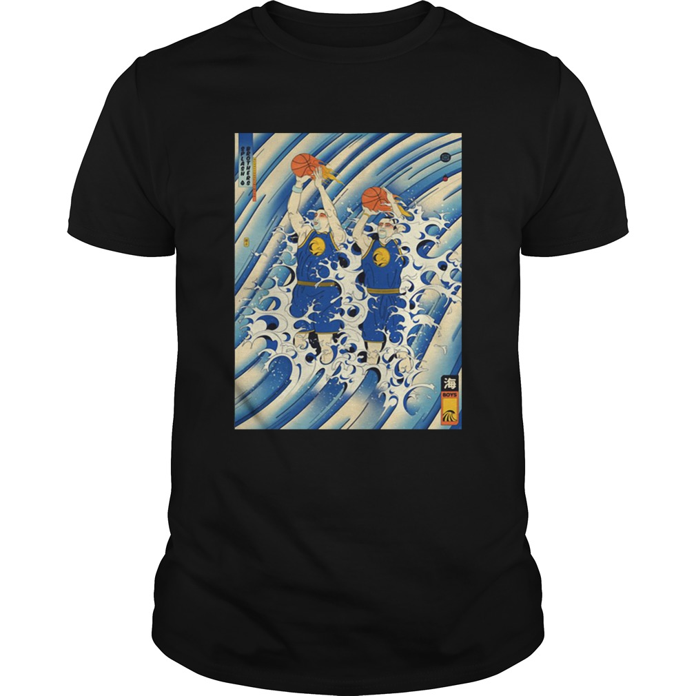 Steph Curry and Klay Thompson Splash Brothers shirt