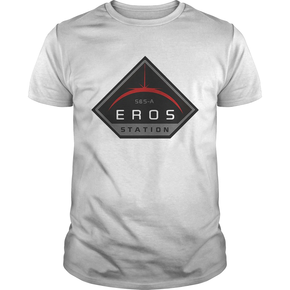 The Expanse Eros Station logo shirt