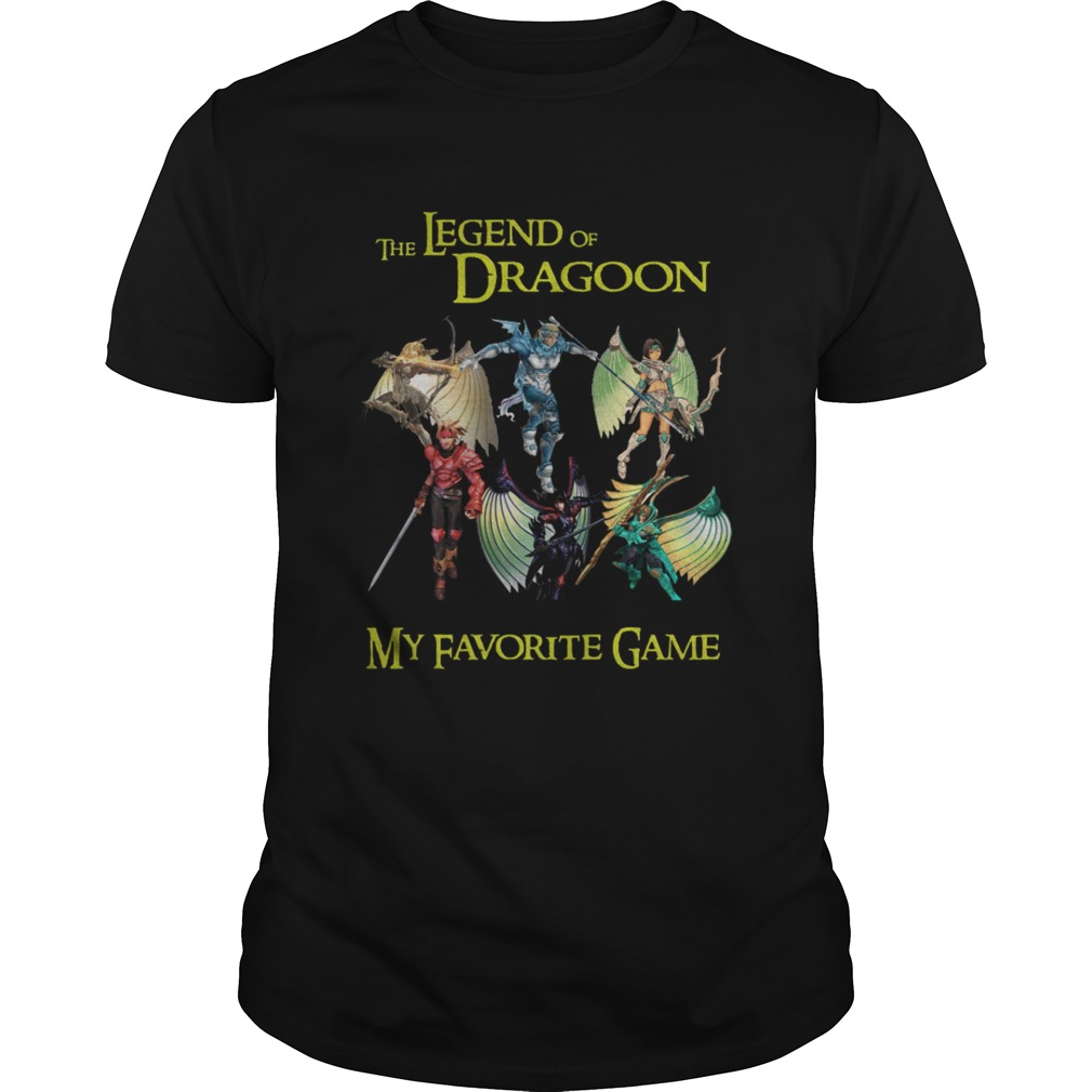 The Legend of Dragoon My Favorite game shirt