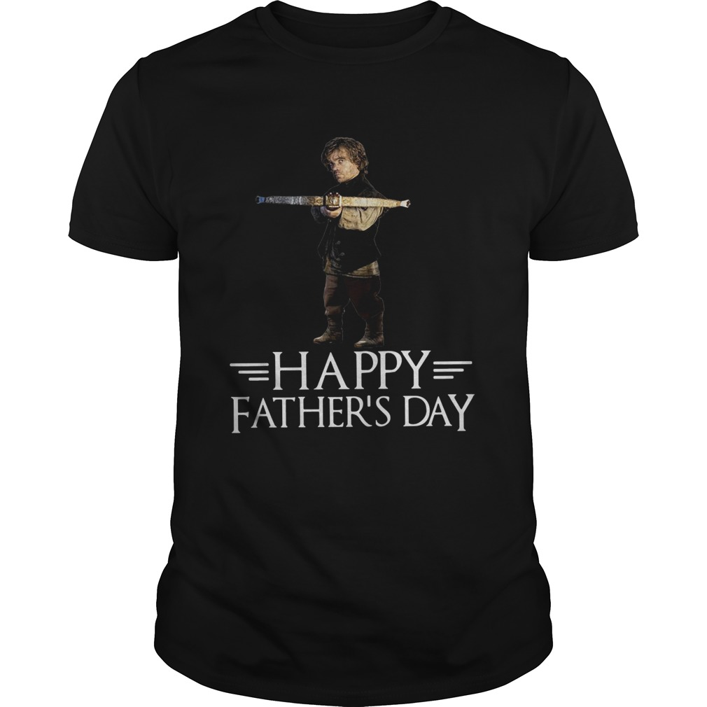 Tyrion Lannister happy fathers day shirt