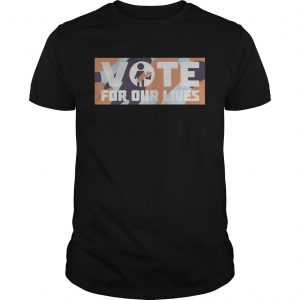 Warriors Steve Kerr vote for our lives shirt