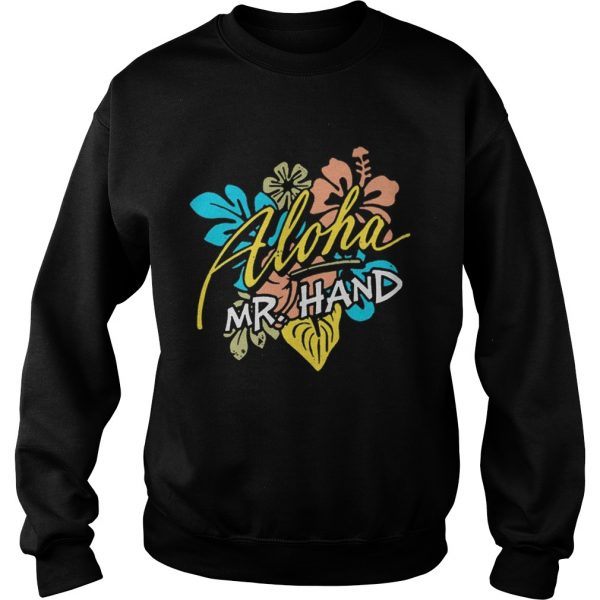 Aloha MrHand Vacation Summer Vacation Flower Sweatshirt
