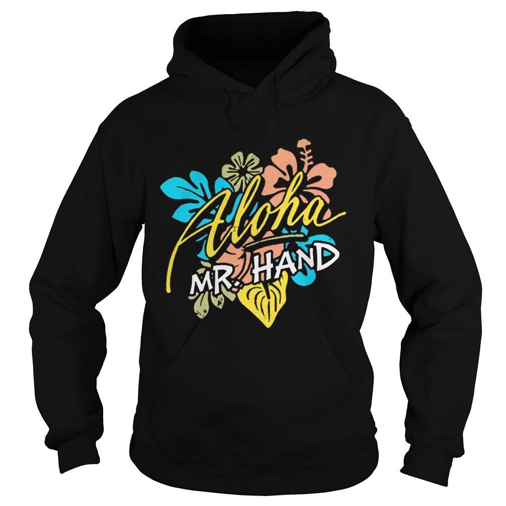 Aloha MrHand Vacation Summer Vacation Flower Hoodie