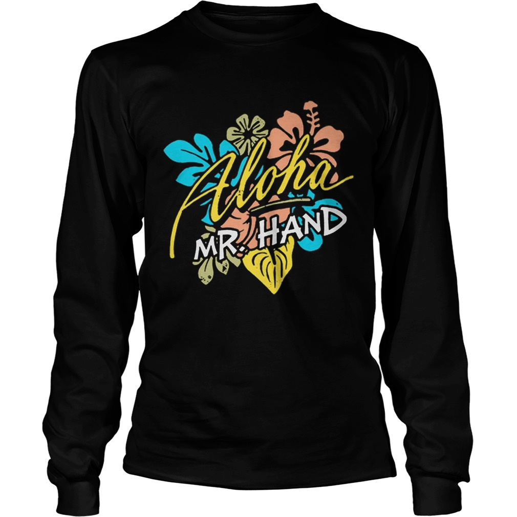 Aloha MrHand Vacation Summer Vacation Flower LongSleeve
