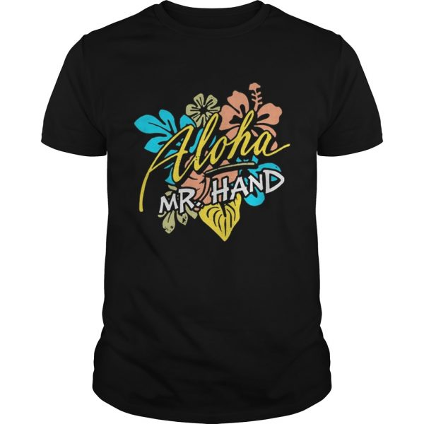 Aloha MrHand Vacation Summer Vacation Flower shirt