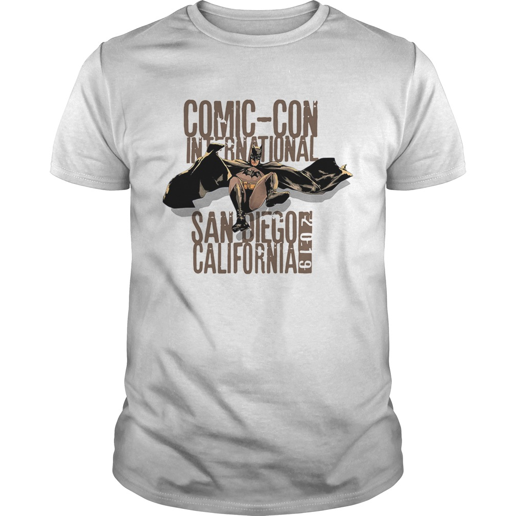 Batman Comic Con International San Diego California 2019 shirt