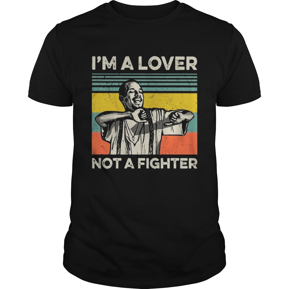 Blood in Blood Im a love not a fighter vintage shirt
