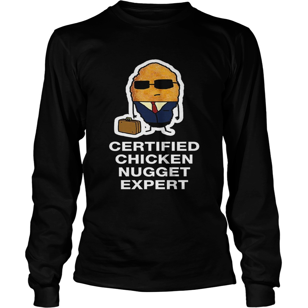 Certified Chicken Nugget Expert LongSleeve