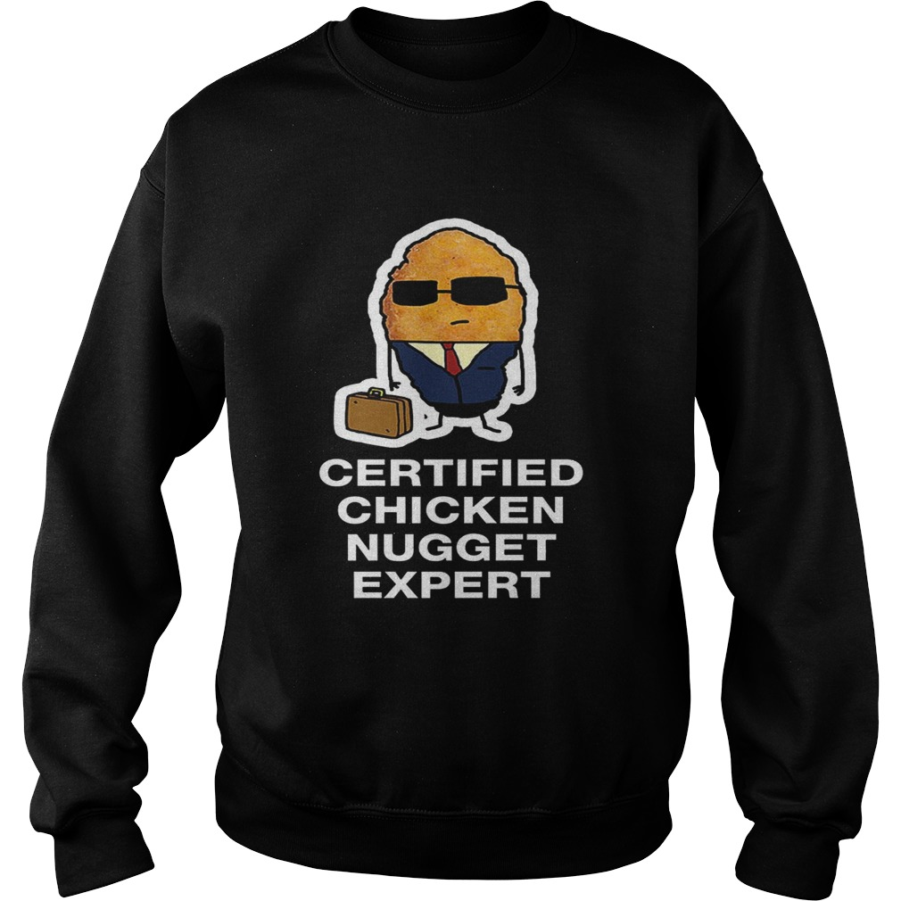 Certified Chicken Nugget Expert Sweatshirt