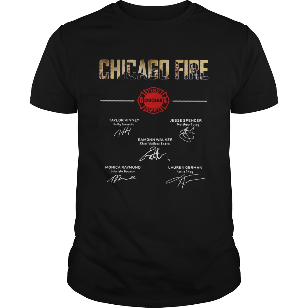 Chicago fire signature shirt