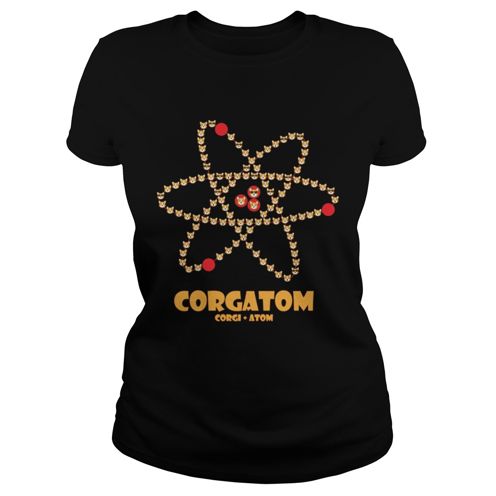 Corgatom Corgi and Atom Classic Ladies