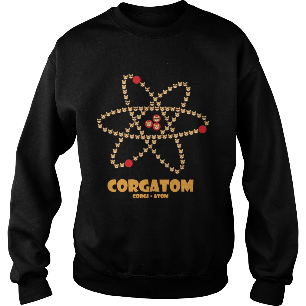 Corgatom Corgi and Atom Sweatshirt