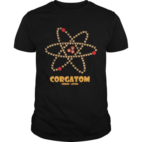 Corgatom Corgi and Atom shirt