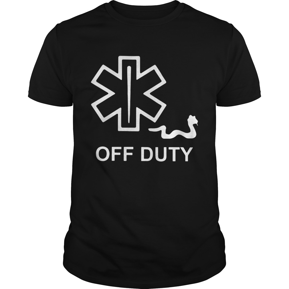 EMT Decal off duty shirt