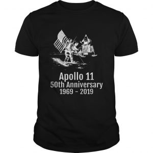 Hot Apollo 11 Moon Landing 50th Anniversary 19692019 shirt