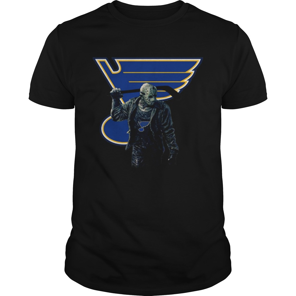 Jason Voorhees St Louis Blues Champions Hockey Unisex