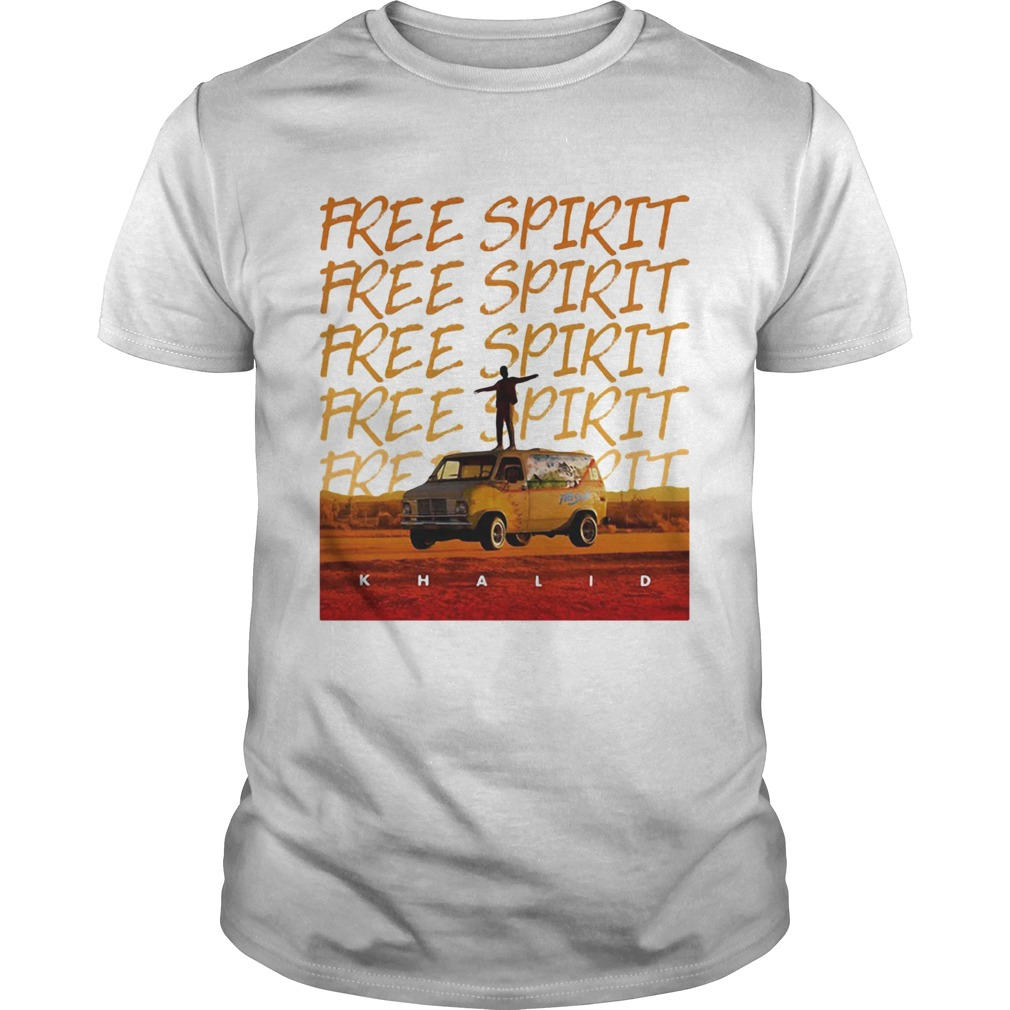 Khalid Free Spirit World Tour shirt