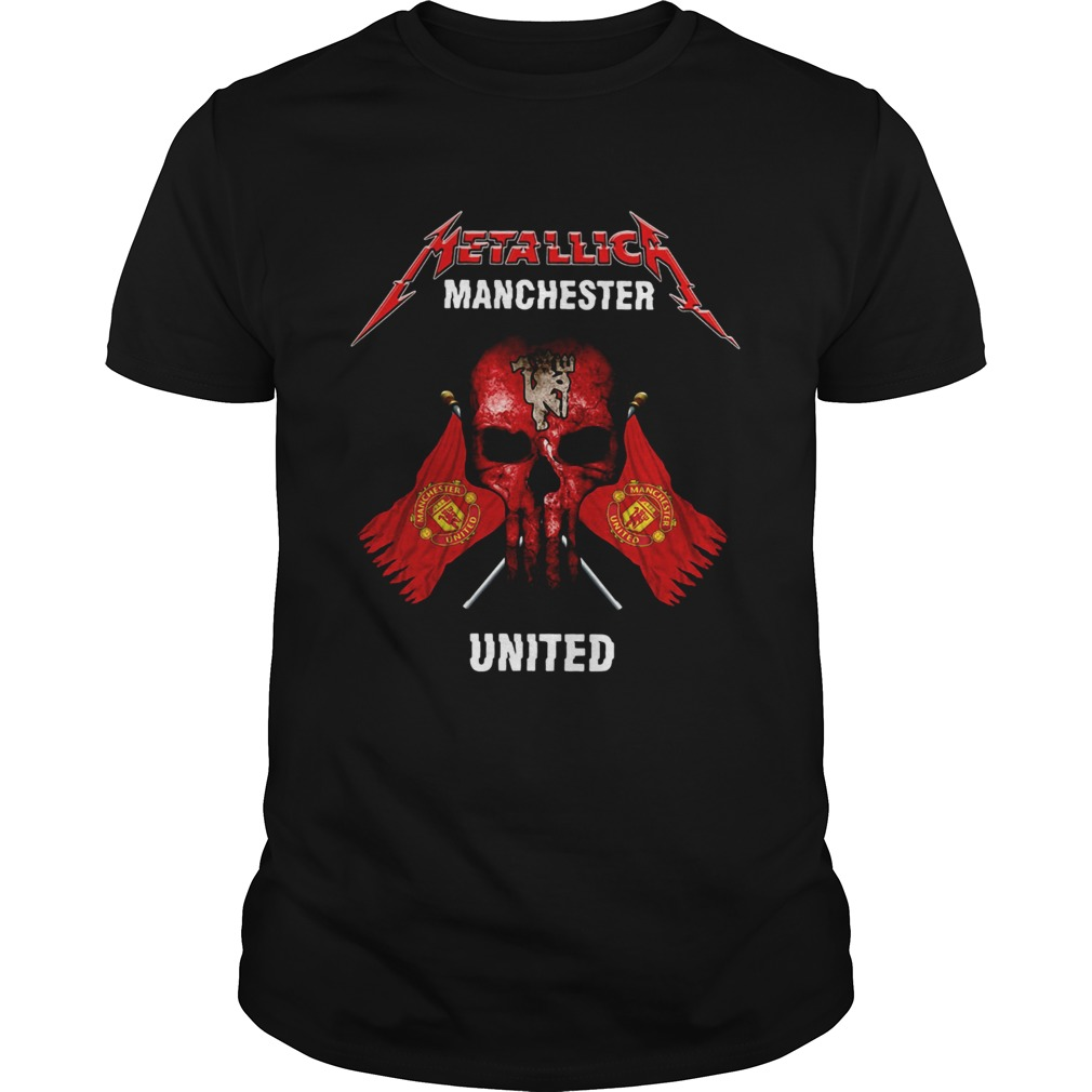 Metallic Manchester United shirt