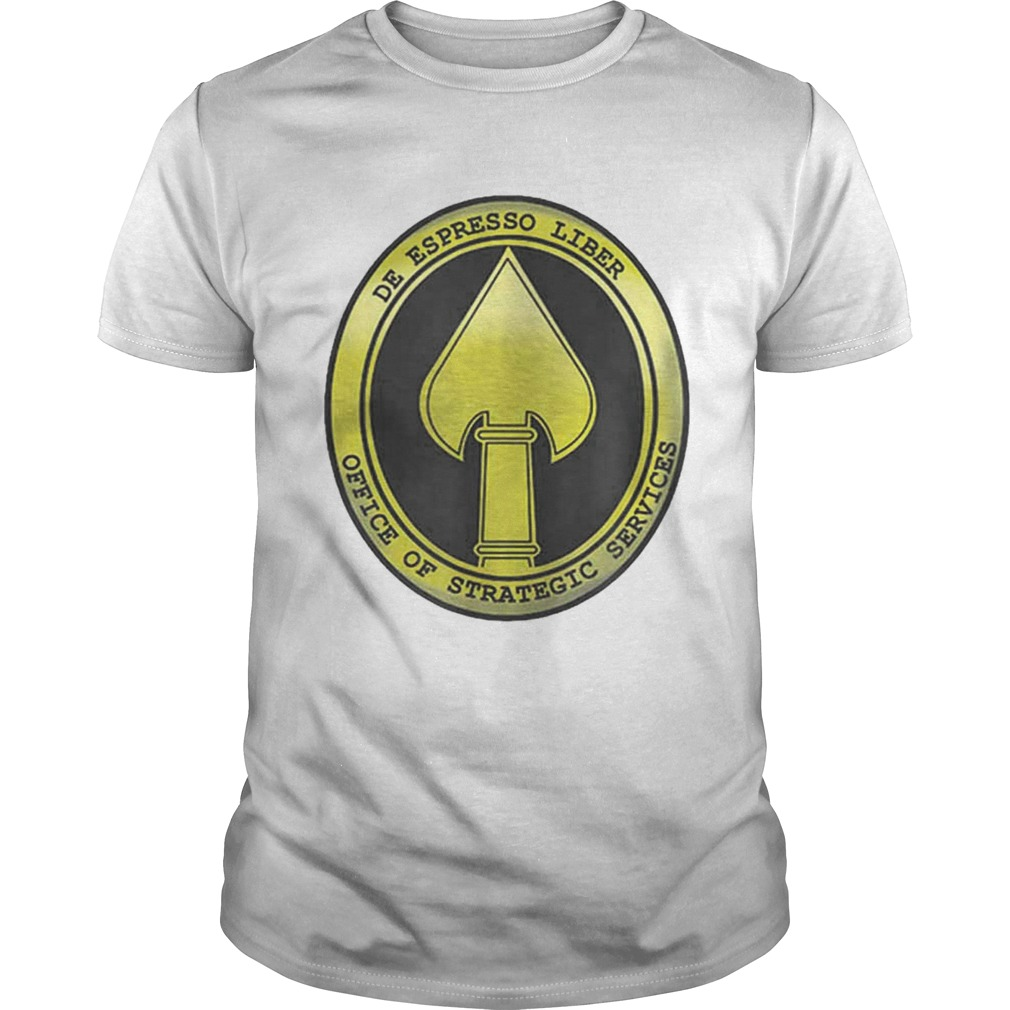 Oss Spy Office Us Military Intelligence Dept Army shirt