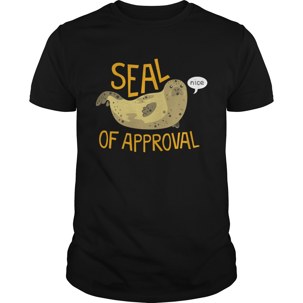 Otter seal of approval nice shirt