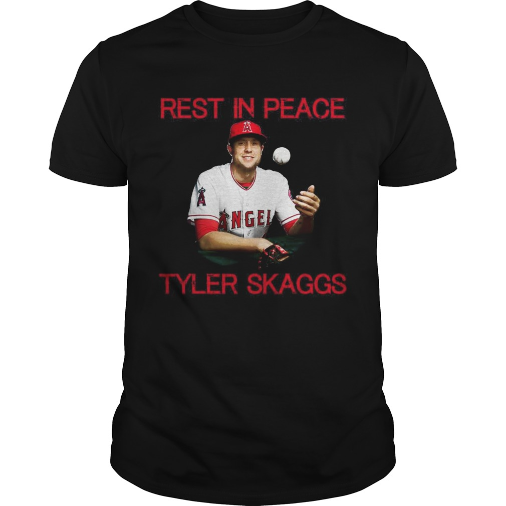 Rest in peace Tyler Skaggs shirt