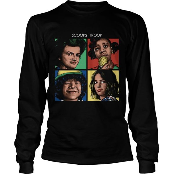 Scoops Troop Stranger Things LongSleeve