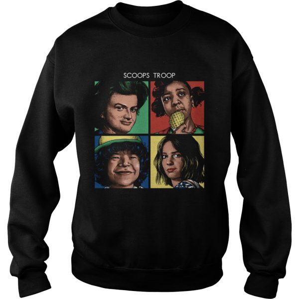 Scoops Troop Stranger Things Sweatshirt