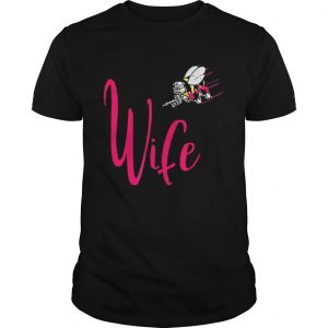 Seabee Wife Navy Seabees Bee shirt