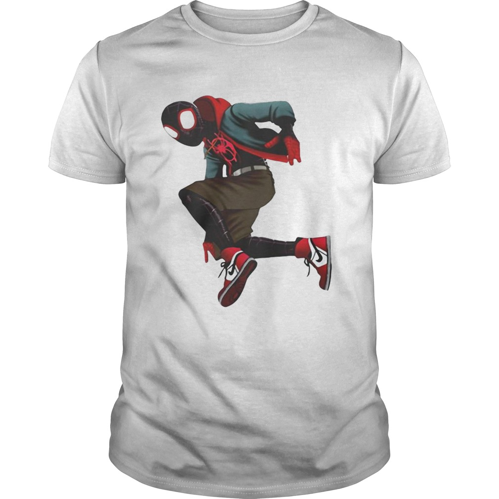 SpiderVerse Miles Morales shirt