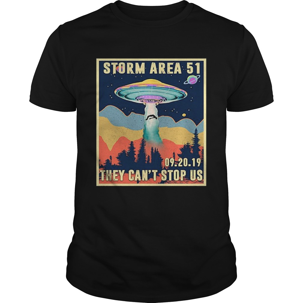 Storm Area 51 they cant stop us 092019 shirt