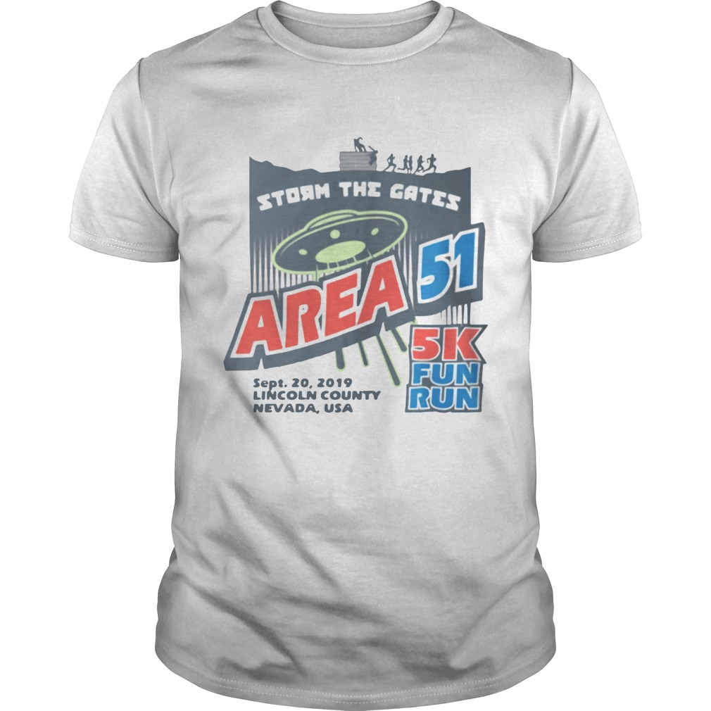 Storm The Gates Area 51 shirt