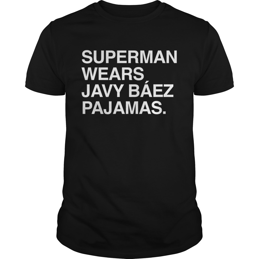 Superman wears Javy Bez Pajamas shirt
