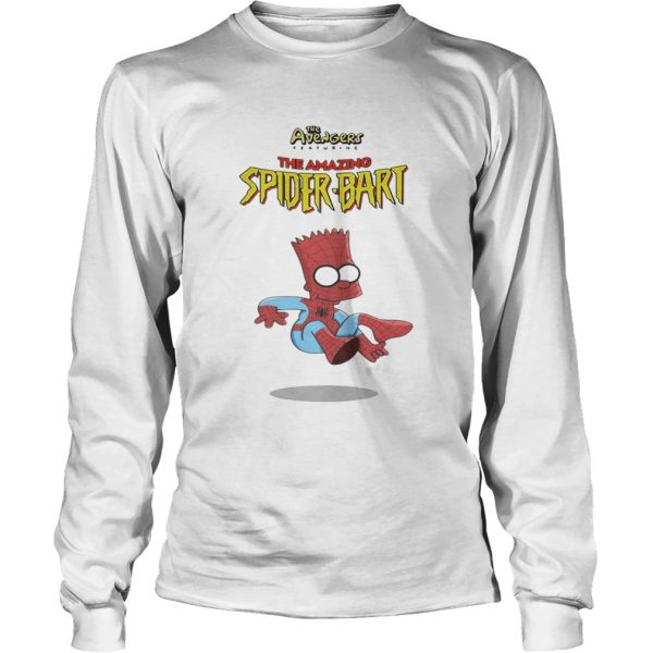 The Avengers featuring the amazing Spider Bart LongSleeve