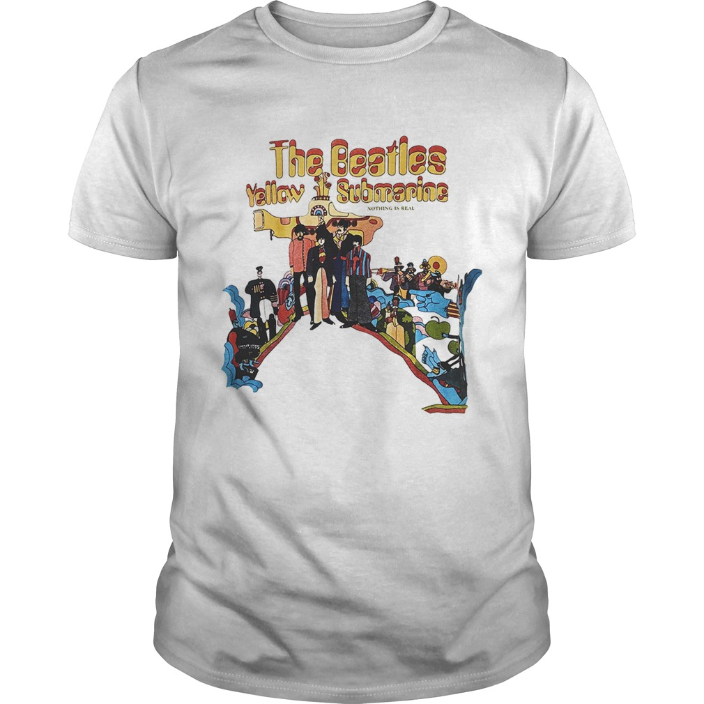The Beatles Yellow Submarine shirt