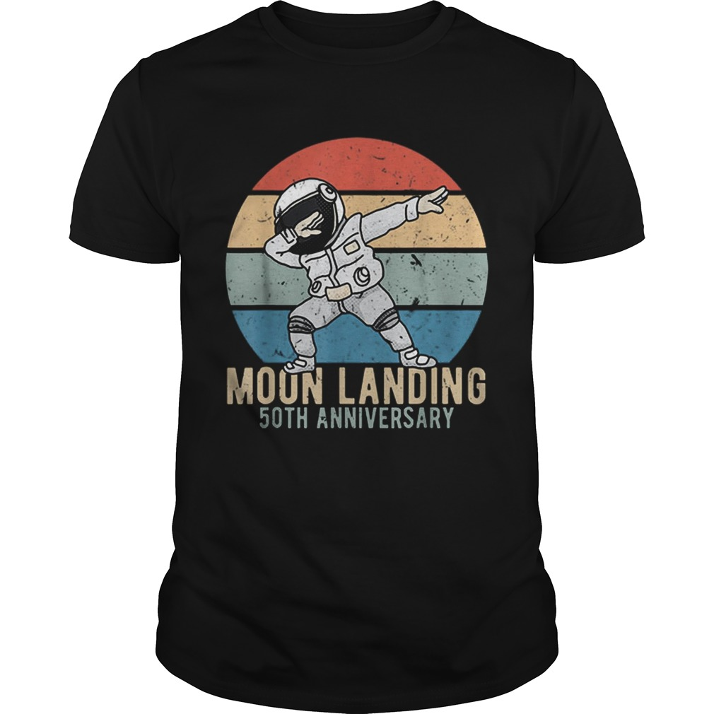Top Dabbing Astronaut Moon Landing 50th Anniversary Apollo 11 shirt