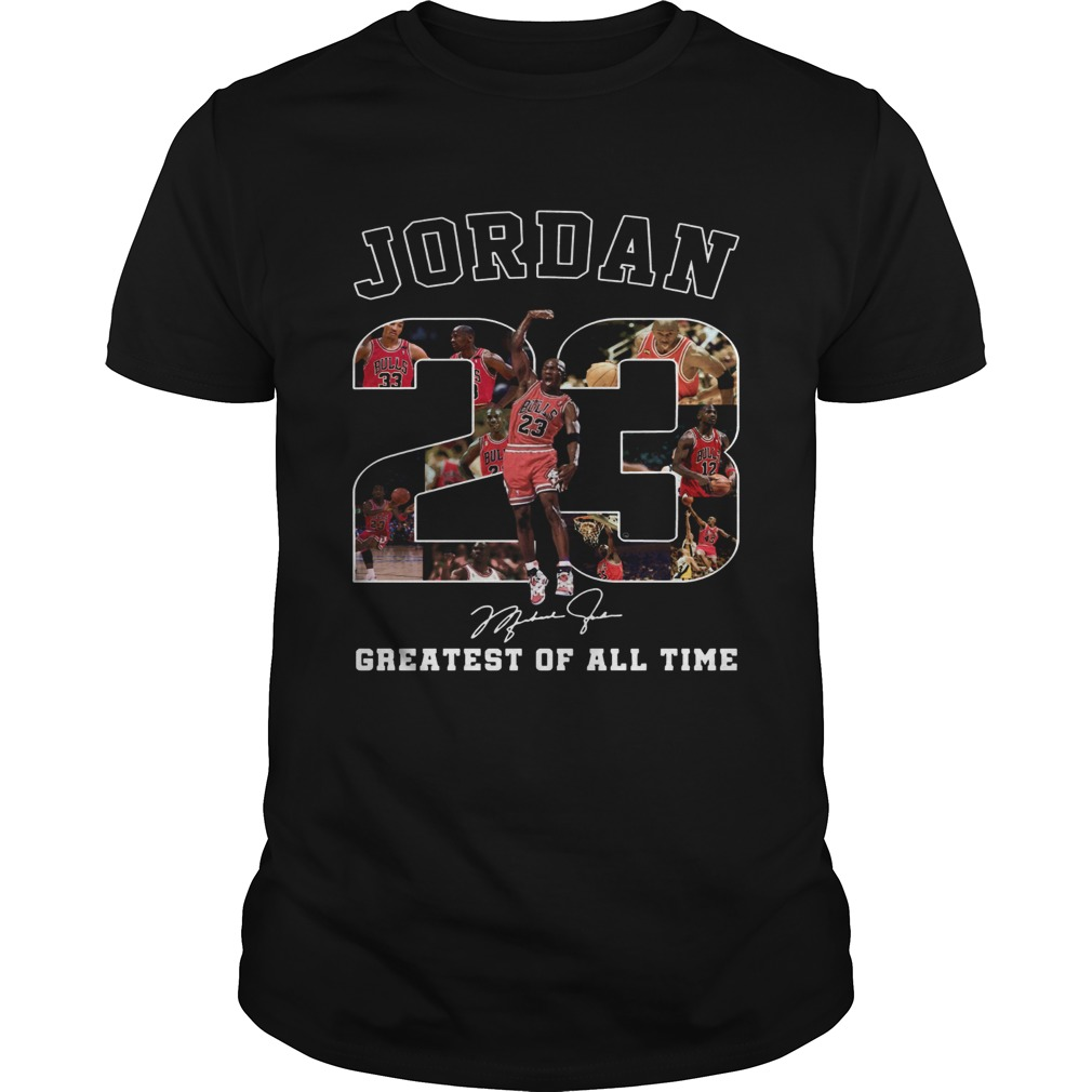 20 Michael Jordan Greatest of all time shirt