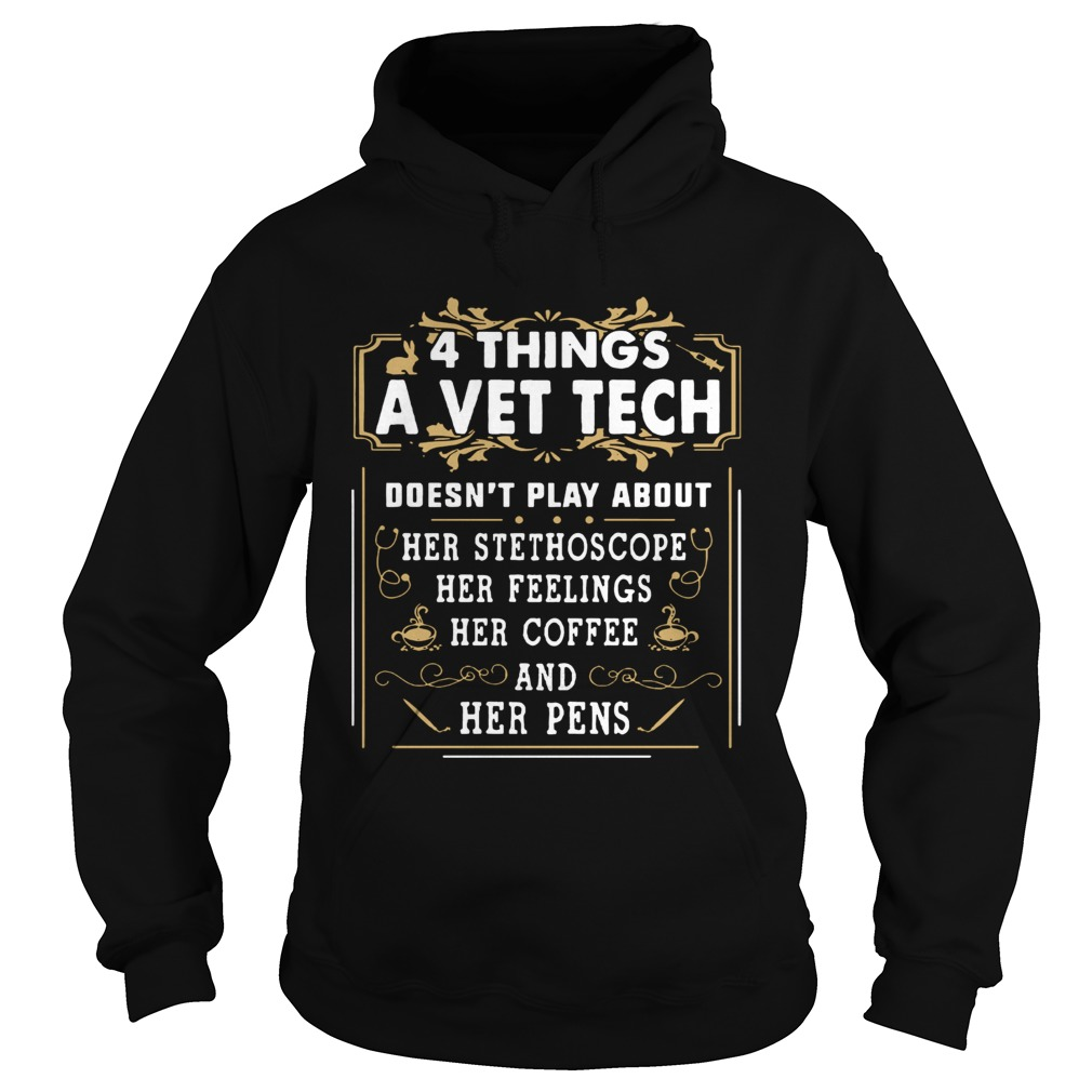 4 things a vet tech doesnt play about Hoodie