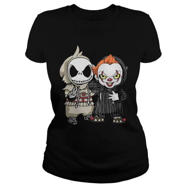 Baby Jack Skellington and Pennywise Classic Ladies