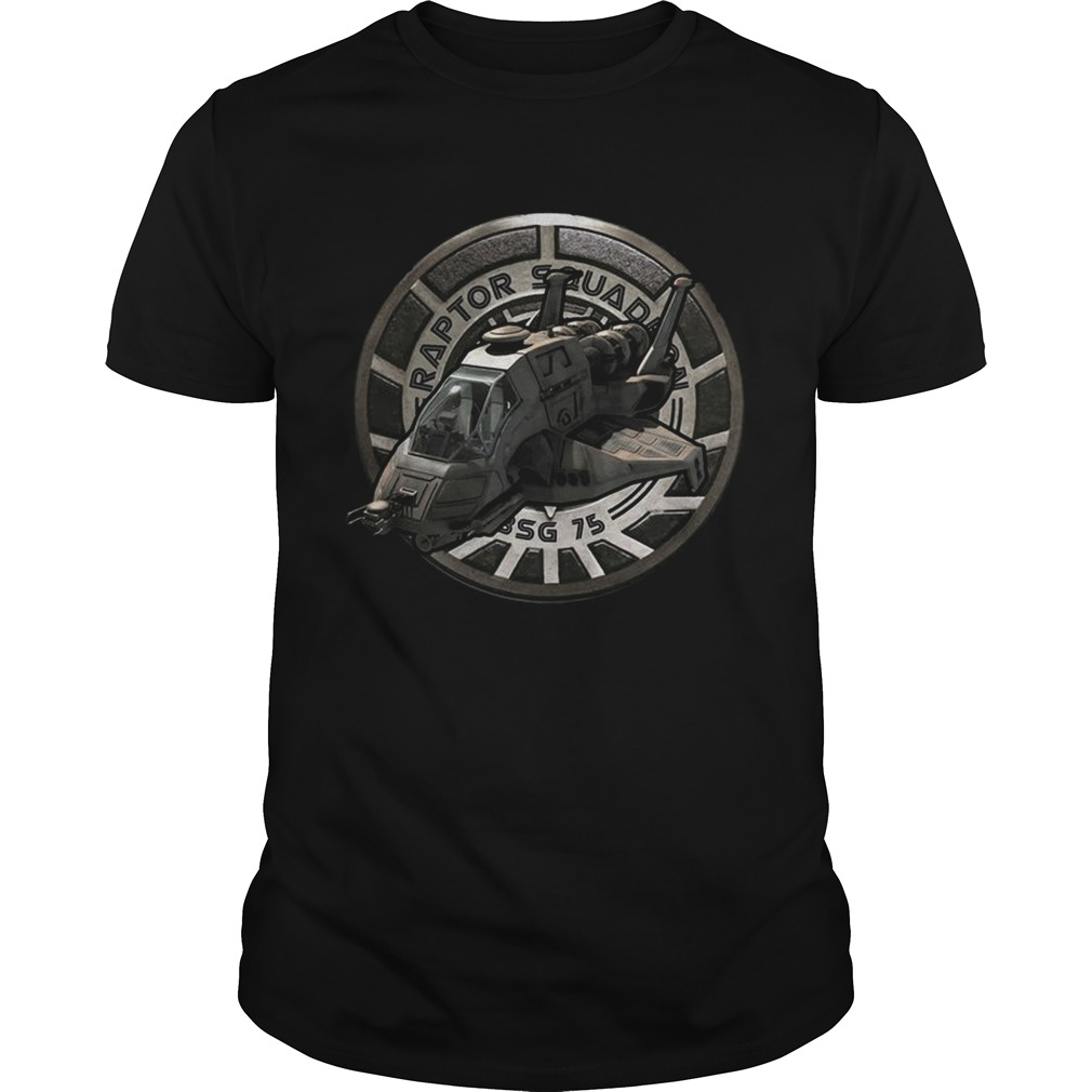 Battlestar Galactica Raptor Squadron Bsg 75 Tv Series Viper Space Battleship Shirts