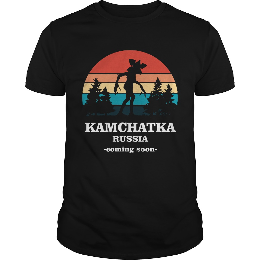 Demogorgon Kamchatka Russia coming soon retro shirt