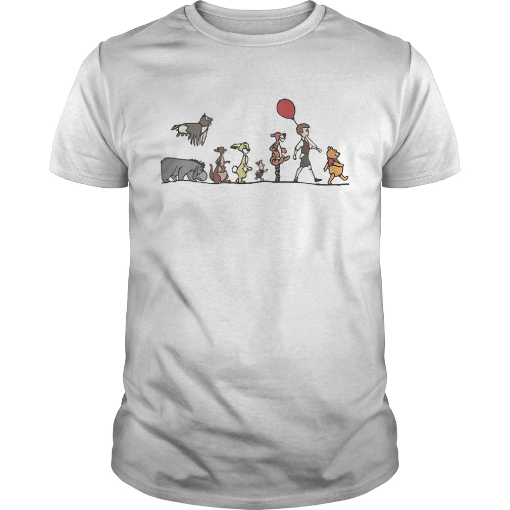 Disney Winnie the Pooh hundred acre wood shirt